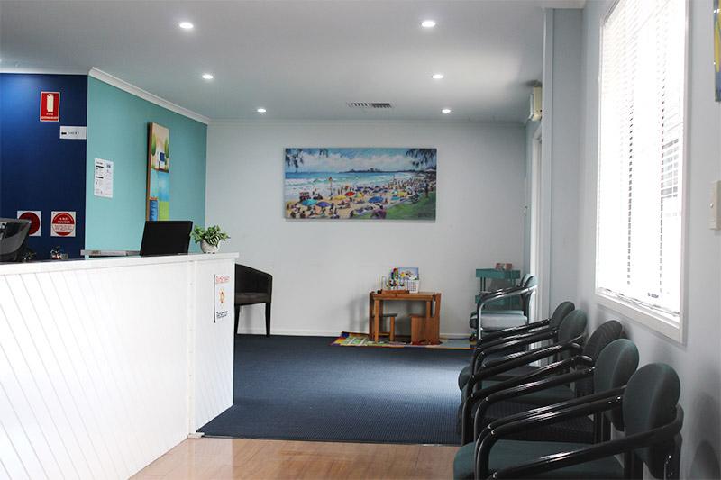 albany clinic reception